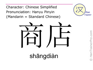 shangdian_shop-chinese-character